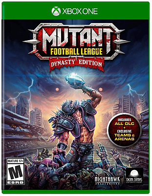 Einfach und sicher online bestellen: Mutant Football League Dynasty Edition (EU-Import) in Österreich kaufen.