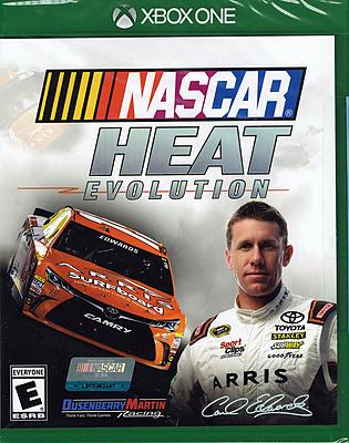 Einfach und sicher online bestellen: NASCAR Heat Evolution (US-Import) in Österreich kaufen.