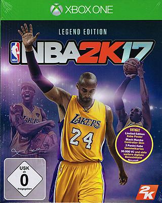 Einfach und sicher online bestellen: NBA 2K17 Legend Edition in Österreich kaufen.