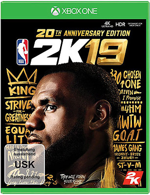 Einfach und sicher online bestellen: NBA 2K19 20th Anniversary in Österreich kaufen.