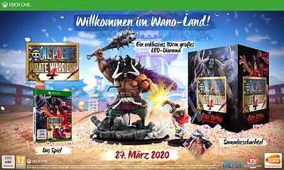 Einfach und sicher online bestellen: One Piece: Pirate Warriors 4 Kaido Edition (PEGI) in Österreich kaufen.