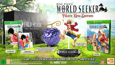 Einfach und sicher online bestellen: One Piece: World Seeker The Pirat King Edition in Österreich kaufen.