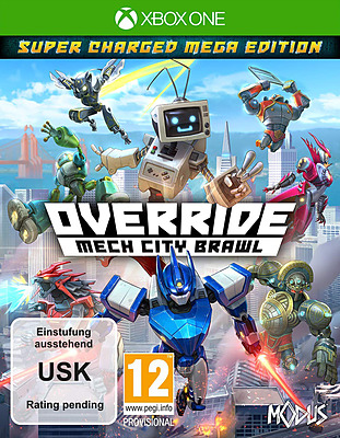 Einfach und sicher online bestellen: Override: Mech City Brawl Super Charged Mega in Österreich kaufen.
