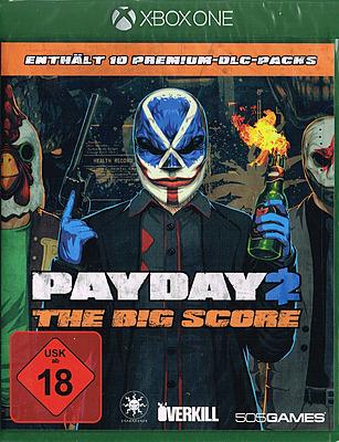 Einfach und sicher online bestellen: Payday 2: The Big Score + 30 DLCs in Österreich kaufen.
