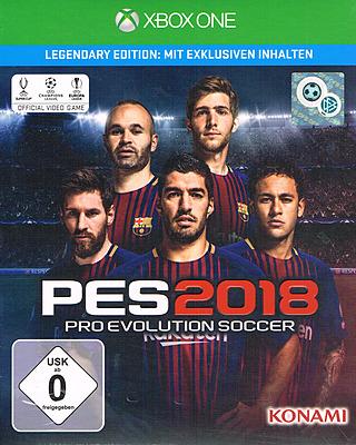 Einfach und sicher online bestellen: Pro Evolution Soccer 2018 Legendary Edition in Österreich kaufen.