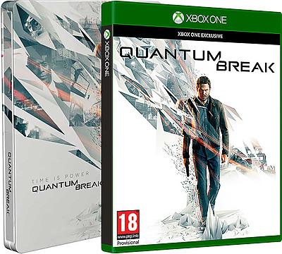 Einfach und sicher online bestellen: Quantum Break Steelbook D1 + 3 DLCs (AT) in Österreich kaufen.