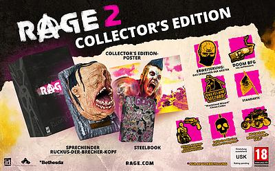 Einfach und sicher online bestellen: Rage 2 Collectors Edition + 13 Boni  in Österreich kaufen.