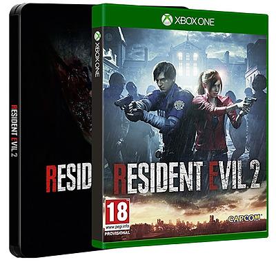 Einfach und sicher online bestellen: Resident Evil 2 Remake Steelbook + 2 DLCs (AT) in Österreich kaufen.