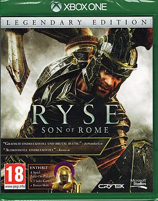 Einfach und sicher online bestellen: Ryse Legendary Edition + 4 DLCs (AT-PEGI) in Österreich kaufen.