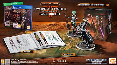 Einfach und sicher online bestellen: Sword Art Online: Fatal Bullet Collectors Edition in Österreich kaufen.