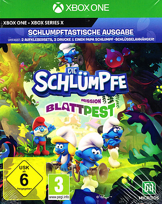 Einfach und sicher online bestellen: Schlümpfe: Mission Blattpest Schlumpftastische in Österreich kaufen.