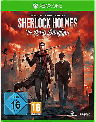 Einfach und sicher online bestellen: Sherlock Holmes: The Devils Daughter in Österreich kaufen.