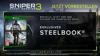 Einfach und sicher online bestellen: Sniper: Ghost Warrior 3 Steelbook Edition (AT) in Österreich kaufen.