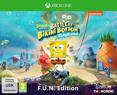 Einfach und sicher online bestellen: SpongeBob SquarePants: Battle of Bikini Bottom FUN in Österreich kaufen.