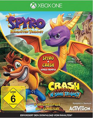 Einfach und sicher online bestellen: Spyro + Crash Remastered Bundle in Österreich kaufen.