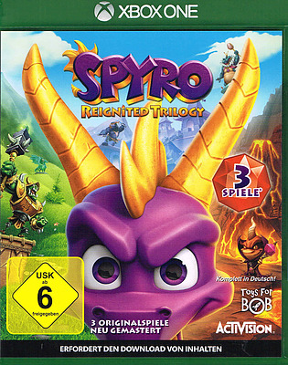 Einfach und sicher online bestellen: Spyro Reignited Trilogy in Österreich kaufen.