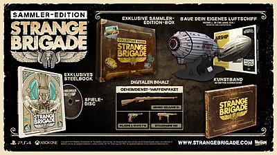 Einfach und sicher online bestellen: Strange Brigade Collectors Edition in Österreich kaufen.