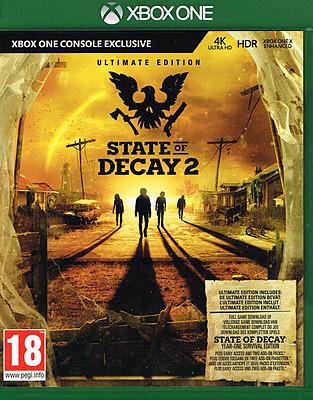 Einfach und sicher online bestellen: State of Decay 2 Ultimate Edition (AT-PEGI) in Österreich kaufen.