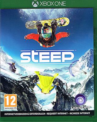 Einfach und sicher online bestellen: Steep + 4 DLCs + Überraschungsgoodie (AT-PEGI) in Österreich kaufen.