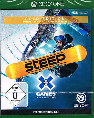 Einfach und sicher online bestellen: Steep X Games Gold Edition in Österreich kaufen.