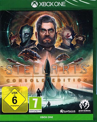 Einfach und sicher online bestellen: Stellaris: Console Edition + 4 DLCs in Österreich kaufen.
