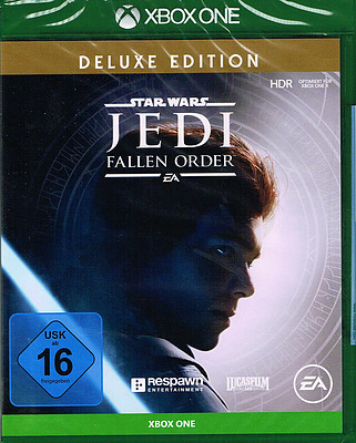 Einfach und sicher online bestellen: Star Wars Jedi: Fallen Order Deluxe Edition in Österreich kaufen.