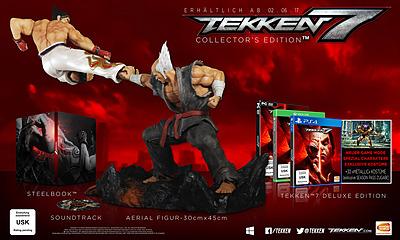 Einfach und sicher online bestellen: Tekken 7 Collectors Edition + DLC in Österreich kaufen.