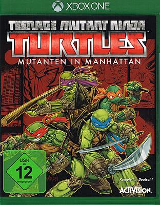 Einfach und sicher online bestellen: Teenage Mutant Ninja Turtles Mutanten in Manhattan in Österreich kaufen.