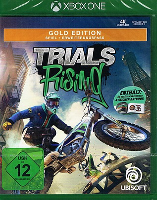 Einfach und sicher online bestellen: Trials Rising Gold Edition + 4 Boni  in Österreich kaufen.