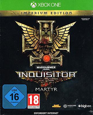 Einfach und sicher online bestellen: Warhammer 40.000: Inquisitor Martyr Imperium Edi. in Österreich kaufen.