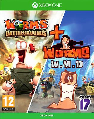 Einfach und sicher online bestellen: Worms Battlegrounds + W.M.D Double Pack in Österreich kaufen.