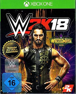 Einfach und sicher online bestellen: WWE 2K18 Wrestlemania Edition in Österreich kaufen.