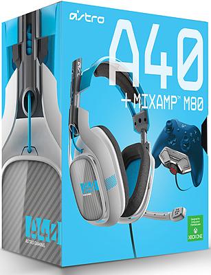 Einfach und sicher online bestellen: Astro Gaming A40 Headset Blue inkl. M80 MixAmp in Österreich kaufen.
