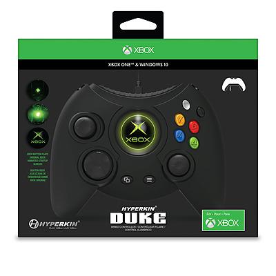 Einfach und sicher online bestellen: Xbox One Controller Duke Wired schwarz in Österreich kaufen.