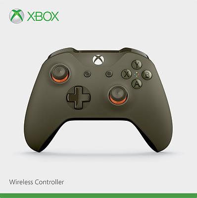 Einfach und sicher online bestellen: Xbox One Controller Olivgrün in Österreich kaufen.