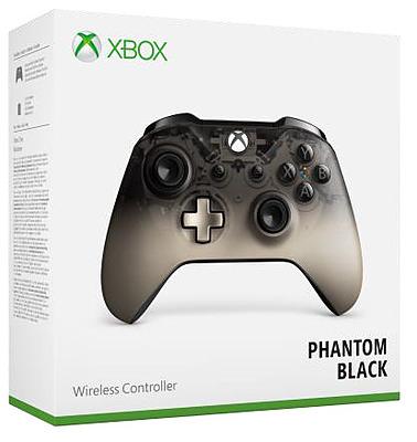 Einfach und sicher online bestellen: Xbox One Controller Phantom Black in Österreich kaufen.