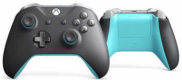 Einfach und sicher online bestellen: Xbox One Controller S grey/blue in Österreich kaufen.