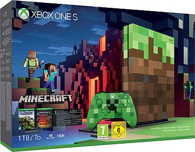 Einfach und sicher online bestellen: Xbox One S 1TB Minecraft - Limited Edition in Österreich kaufen.