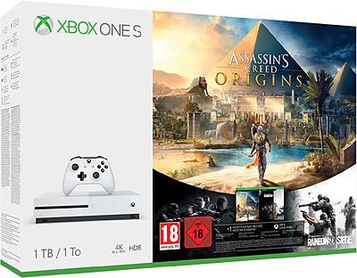 Einfach und sicher online bestellen: Xbox One S 1TB Assasins Creed Bundle in Österreich kaufen.