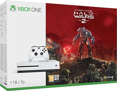 Einfach und sicher online bestellen: Xbox One S 1TB Halo Wars 2 Bundle in Österreich kaufen.