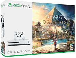 Einfach und sicher online bestellen: Xbox One S 500GB Assasins Creed Bundle in Österreich kaufen.