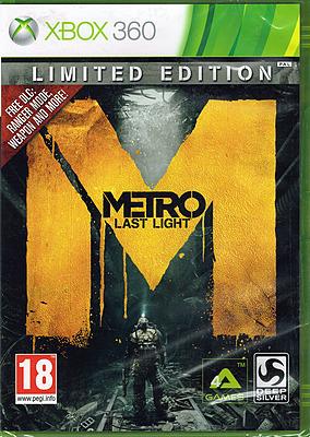Einfach und sicher online bestellen: Metro: Last Light Limited Edition (EU-Import) in Österreich kaufen.