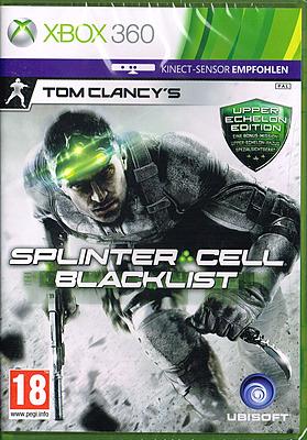 Einfach und sicher online bestellen: Splinter Cell: Blacklist Upper Echelon Ed. (AT) in Österreich kaufen.
