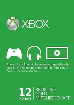 Einfach und sicher online bestellen: 12-monatige Xbox Live Mitgliedschaft in Österreich kaufen.