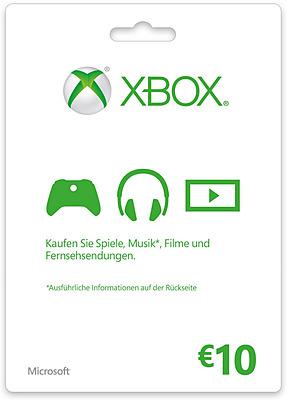 Einfach und sicher online bestellen: Xbox Live 10 Euro in Österreich kaufen.