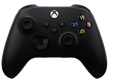 Einfach und sicher online bestellen: Xbox Series X Controller schwarz in Österreich kaufen.