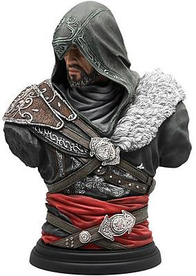 Einfach und sicher online bestellen: Assassins Creed Büste Ezio Mentor in Österreich kaufen.