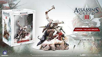 Einfach und sicher online bestellen: Assassins Creed Figur Connor - The Last Breath in Österreich kaufen.