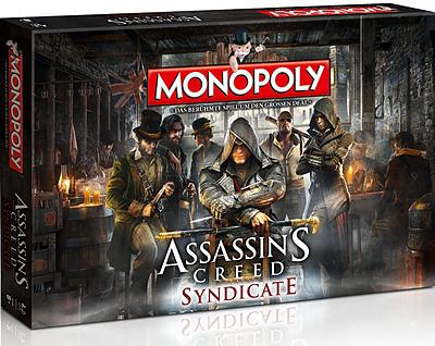 Einfach und sicher online bestellen: Assassins Creed Syndicate Monopoly in Österreich kaufen.