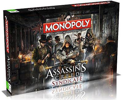 Einfach und sicher online bestellen: Assassins Creed Syndicate Monopoly (Englisch) in Österreich kaufen.